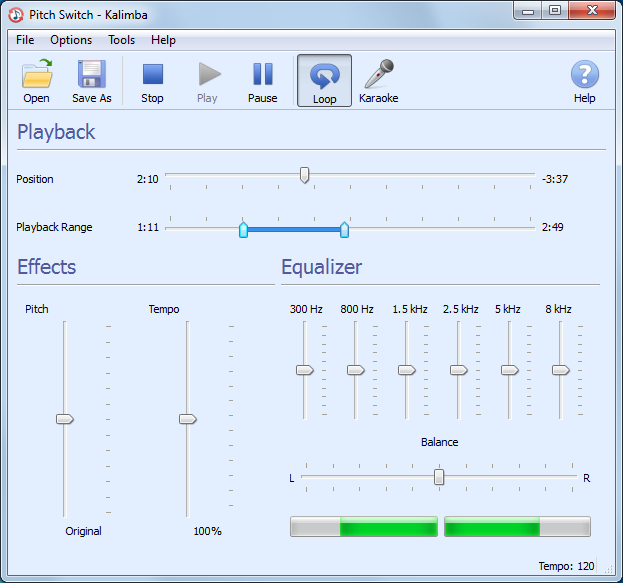 Click to view Pitch Switch 4.0.9 screenshot